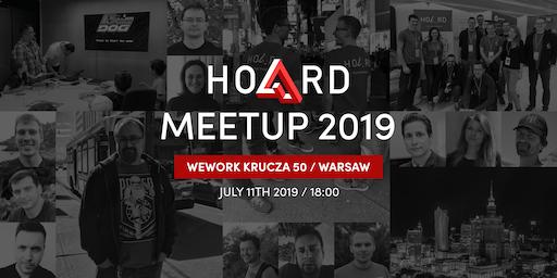 HOARD Warsaw MeetUp 2019