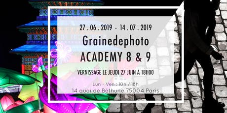 Vernissage EXPO PHOTO - Grainedephoto Academy billets