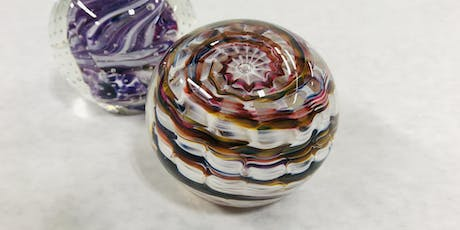 Artist workshop: Create your own Glass Paperweight tickets