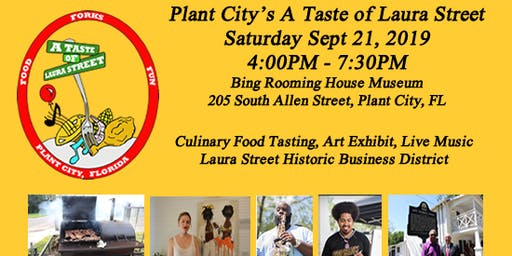 Plant City Taste of Laura Street