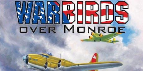 2019 Warbirds Over Monroe Air Show tickets