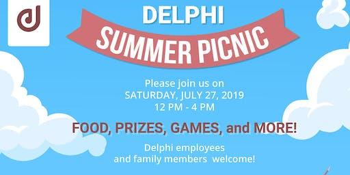 Delphi Summer Picnic 2019