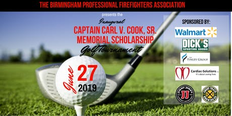 Captain Carl V. Cook Sr. Memorial Scholarship Golf Tournament tickets