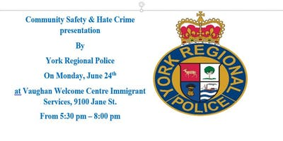 Community Safty and Hate Crime