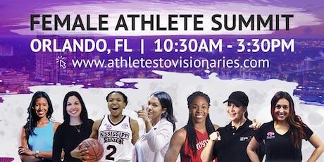 Athletes to Visionaries High School Female Athlete Summit Orlando tickets
