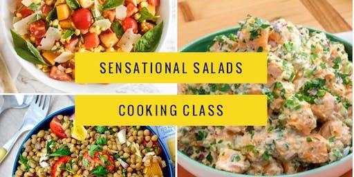 Sensational Summer Salads Cooking Class (Hands-On)