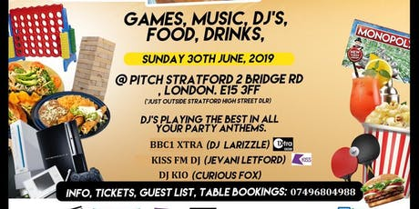 Pitch Presents: SUNDAY (GAMES & BRUNCH) tickets