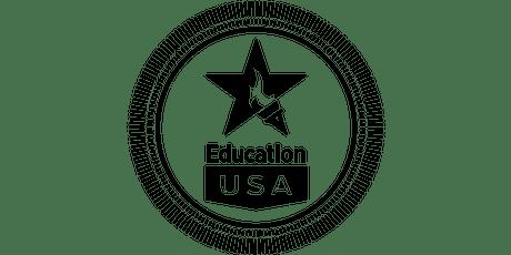 Charla informativa: Oportunidades de estudio en Estados Unidos 16 de julio entradas