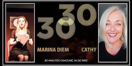 30/30 - Cathy & Marina billets