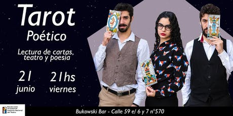 Tarot Poético - Lectura de cartas, teatro y poesía entradas