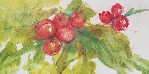 Christmas In Pen And Wash (Adult Course)