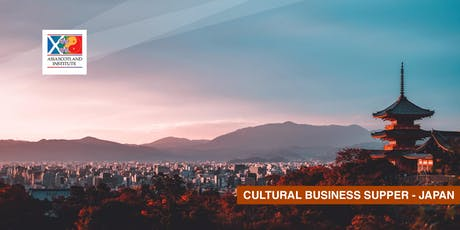 Cultural Business Supper - Japan  tickets