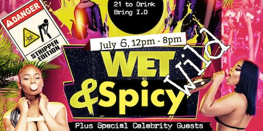 Wet , Wild N Spicy Celebrity Pool Party
