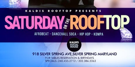 SATURDAY ON THE ROOFTOP tickets