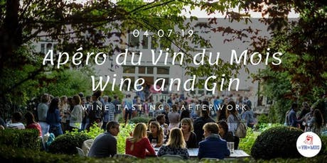 Apéro du Vin du Mois : Wine and Gin tickets