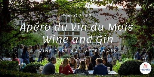 Apéro du Vin du Mois : Wine and Gin