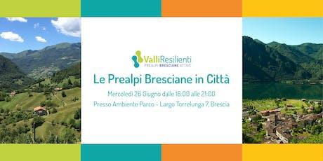 Le Prealpi Bresciane in Città biglietti