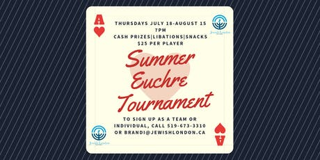 Summer Euchre Tournament tickets
