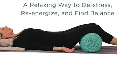 Restorative, Yin & Yoga Nidra for relaxation