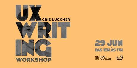 UX Writing Workshop ingressos