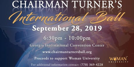 2019 Chairman Turner's International Ball tickets