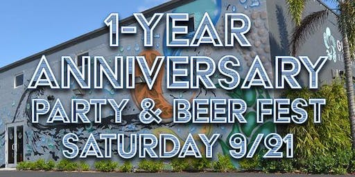 Gulf Stream Brewing Company's 1 Year Anniversary Party!