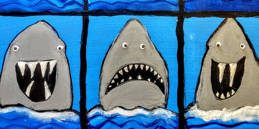 Shark Week Paint Party