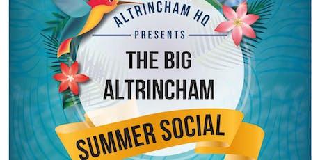 The Big Altrincham Summer Social tickets