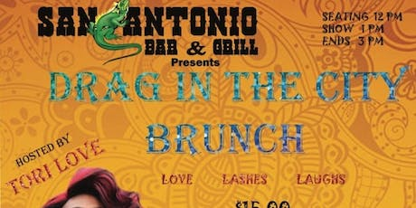 Drag In The City Drag Brunch tickets