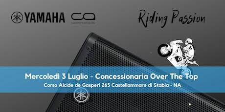 Yamaha, Riding Passion biglietti