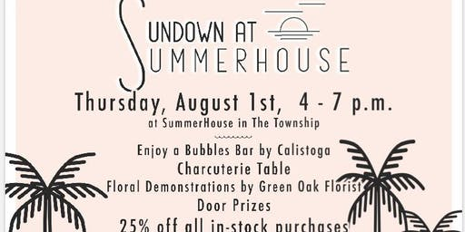 Sundown at Summerhouse- Bridgewater Living event