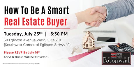 How To Be A Smart Real Estate Buyer tickets