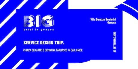 BIG WORKSHOP // Service Design Trip tickets