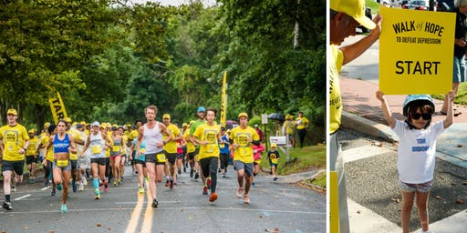 Fourth Annual Race of Hope to Defeat Depression