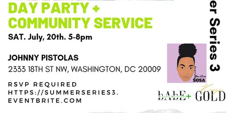 Samira's Summer Series 3: Spill & Serve tickets