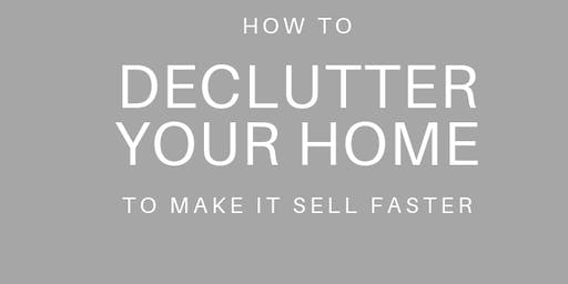 Declutter to downsize - tips and tricks to help you make the next move!