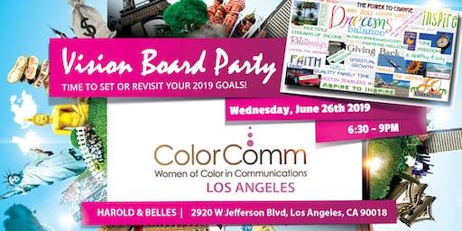ColorComm LA - Vision Board Party