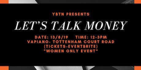 YBTN: Let's Talk Money Ladies tickets