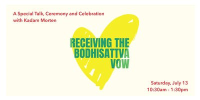 Receiving the Bodhisattva Vow
