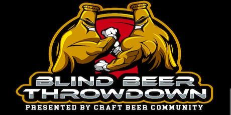 Blind Beer Throwdown - IPA Edition - Presented by Craft Beer Community tickets