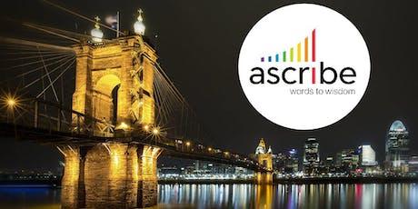 Ascribe Users Group - Cincinnati 2019 tickets