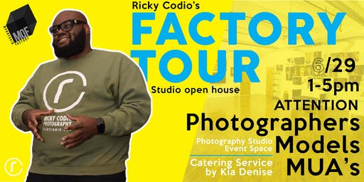 Ricky Codio's Factory Tour Studio Open House