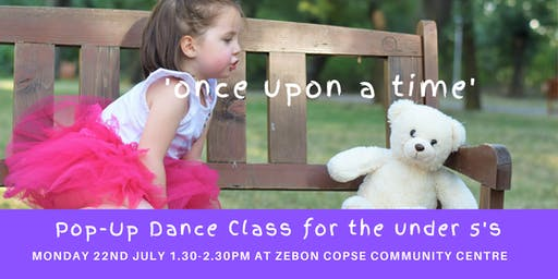 Pop-Up Dance Class for Under 5's 22nd July