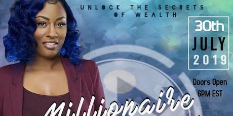 Millionaire Mastermind: Dr. Jewel Tankard tickets