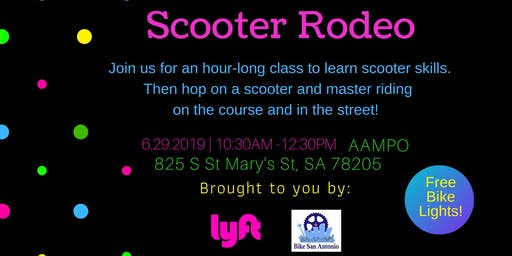 Scooter Rodeo & Skills Class