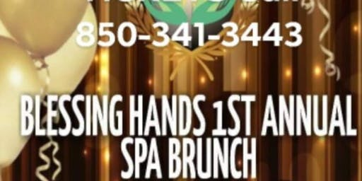 BLESSING HANDS RELAXATION SERVICE 1ST ANNUAL SPA BRUNCH