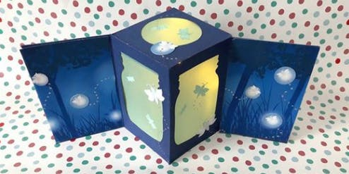 Let Your Light Shine: Pop-up card & magnet making class