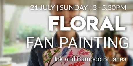 Floral FAN Painting Workshop tickets