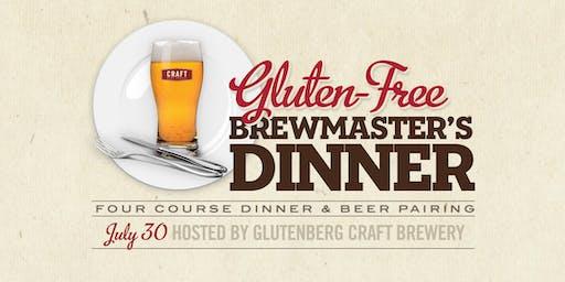 Gluten Free Brewmasters Dinner