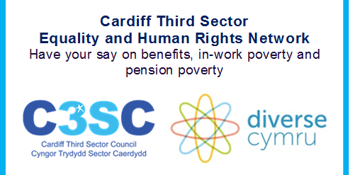 Cardiff Third Sector Equality and Human Rights Network – Have your say on benefits, in-work poverty and pension poverty